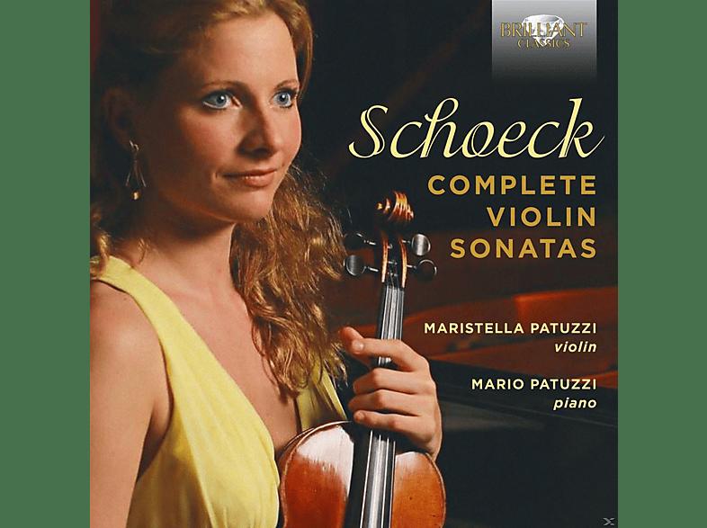 Maristella Patuzzi, Mario Patuzzi - Complete Violin Sonatas [CD]