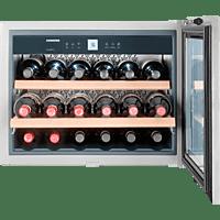 LIEBHERR WKEES 553-20 (Spektrum: A+++ - G) A Weinklimaschrank (130 kWh/Jahr, EEK A, Silber)