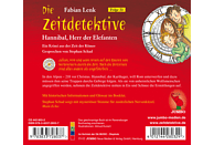 Die Zeitdetektive 23: Hannibal, Herr der Elefanten - (CD)