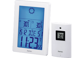 """HAMA Wetterstation """"EWS-3100"""", weiß"""