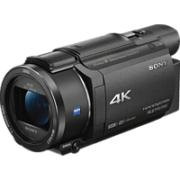 SONY FDR-AX53 Zeiss Camcorder 4K UHD, Exmor R CMOS 8.57 Megapixel, 20x opt. Zoom