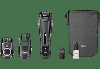 Barbero - Braun BT 5070, Máxima precisión para un estilo perfecto, Ajustes de longitud cada 0,5 mm