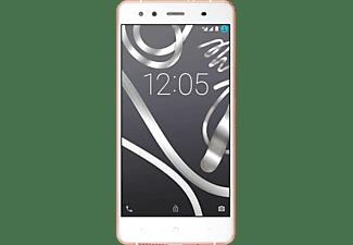 "Móvil - BQ Aquaris X5, 16GB, red 4G, Dual SIM, pantalla HD 5"", oro rosa"