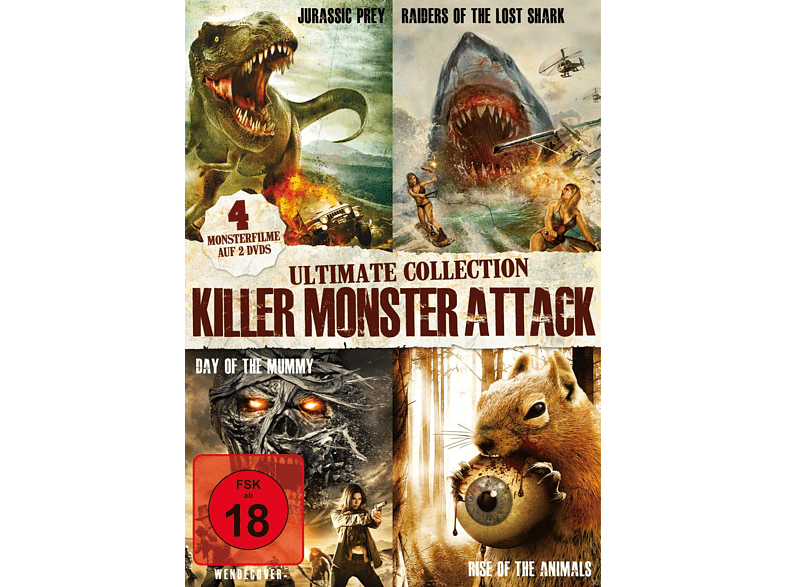 Killer Monster Attack - Ultimate Collection [DVD]