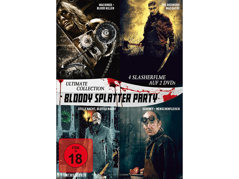 Bloody Splatter Party - Ultimate Collection [DVD]
