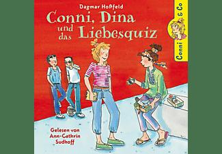 Conni - Dagmar Hoßfeldt Conni, Dina Und Das Liebesquiz  - (CD)