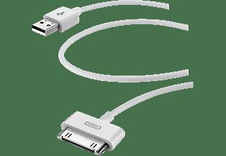 Cable de datos y cargador para iPhone 5 Cellular Line, blanco