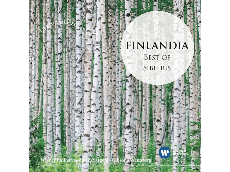 VARIOUS - Finlandia-Best Of Sibelius(Inspiration Series) [CD]