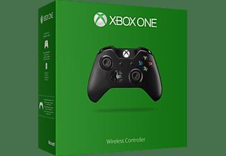 MICROSOFT Xbox One Wireless Controller (2015), Gamepad, Schwarz