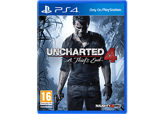 Uncharted 4: A Thief's End | PlayStation 4