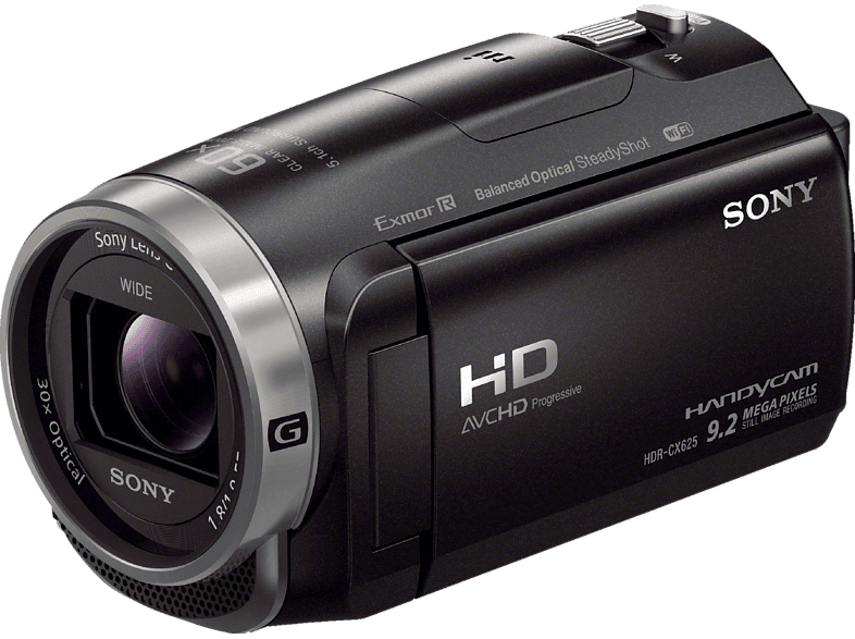 SONY HDR-CX625 Camcorder Full-HD, Exmor R CMOS 2.29 Megapixel, 30x opt. Zoom