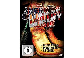 - American Country Music - The Ultimate Music Documentary  - (DVD)