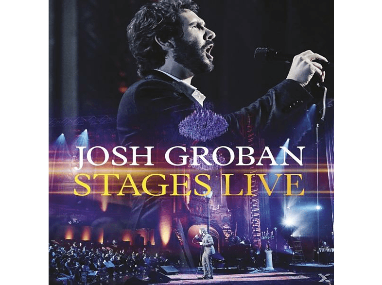 Josh Groban - Stages Live [CD + Blu-ray Disc]