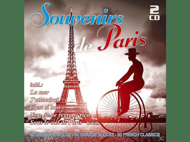 VARIOUS - Souvenirs De Paris-50 Große Erfolge [CD]