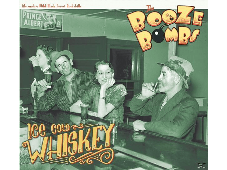 The Booze Bombs - Ice Cold Whiskey [CD]