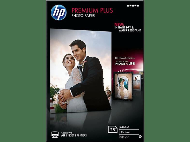 HP Premium Plus Glossy 10x15cm 25 feuilles (CR677A)