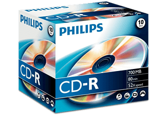 PHILIPS 10 Pack CD-R 700 MB 52 x (CR7D5NJ10/00)