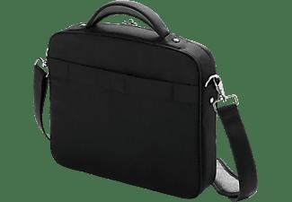 DICOTA D30143 Multi Compact Notebooktasche Umhängetasche für Universal Polyester, Schwarz