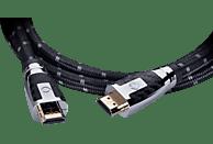 OEHLBACH D1C11427 HDMI Kabel, Schwarz/Grau