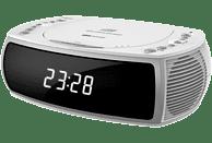 SILVA CCD 16 USB Uhrenradio mit CD, weiß