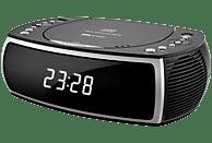 SILVA CCD 16 USB Uhrenradio mit CD, schwarz