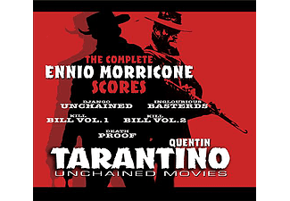 Solisti E Orchestre Del Cinema Italiano - Quentin Tarantino - Unchained Movies (CD)