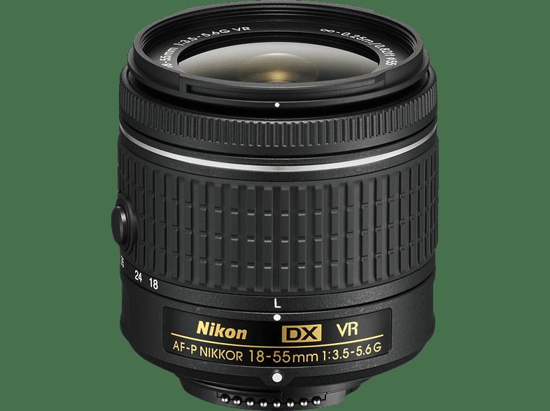 NIKON AF-P DX VR  für Nikon F-Mount, 18 mm - 55 mm, f/3.5-5.6