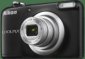 NIKON COOLPIX A10 Digitalkamera Schwarz, 5x opt. Zoom, LCD