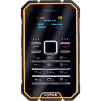 CYRUS CM 1 Schwarz, Outdoor Handy