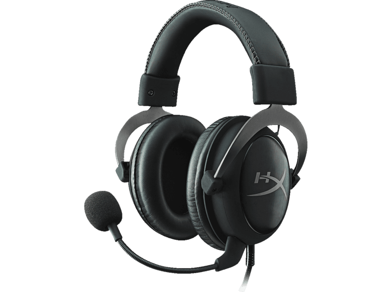 HYPERX Cloud II, Over-ear Gaming Headset Gun Metal