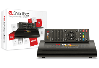 GLBOX HD 300 IP IPTV Mediaplayer (HDTV, Schwarz)