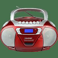 BLAUPUNKT B 11 mit Kassettendeck Boombox Rot