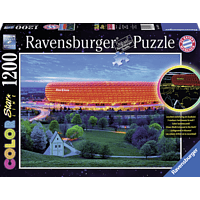 RAVENSBURGER Allianz Arene color Starline Puzzle, Mehrfarbig