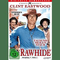 Rawhide-Tausend Meilen Staub - Staffel 7.1 [DVD]