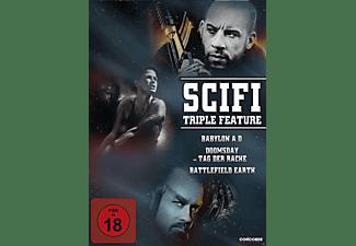 SciFi Triple Feature DVD