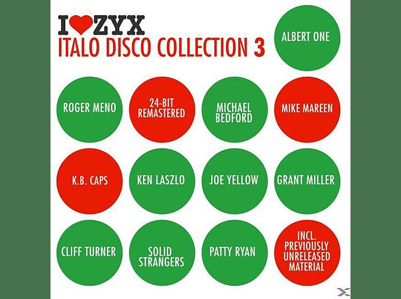 VARIOUS - Zyx Italo Disco Collection 3 [CD]
