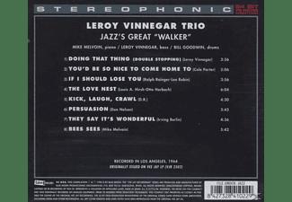 Leroy Trio Vinnegar - JAZZ'S GREAT WALKER  - (CD)