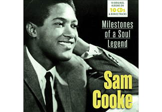 Sam Cooke - 10 Original Albums & Bonus Tracks  - (CD)