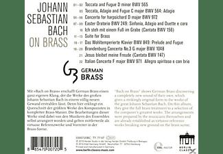 German Brass - Bach On Brass  - (CD)