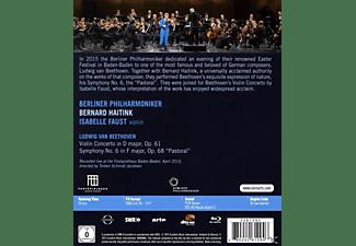 "Isabelle Faust - Violinkonzert & Sinfonie 6""pastorale""  - (Blu-ray)"