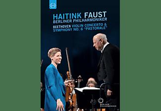 "Berliner Philharmoniker - Violinkonzert & Sinfonie 6""pastorale""  - (DVD)"