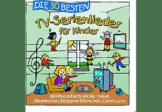 Simone Sommerland, Karsten Glück & Die Kita-frösche - Die 30 Besten Tv-Serienlieder  - (CD)
