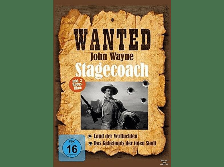 Wanted John Wayne [DVD]