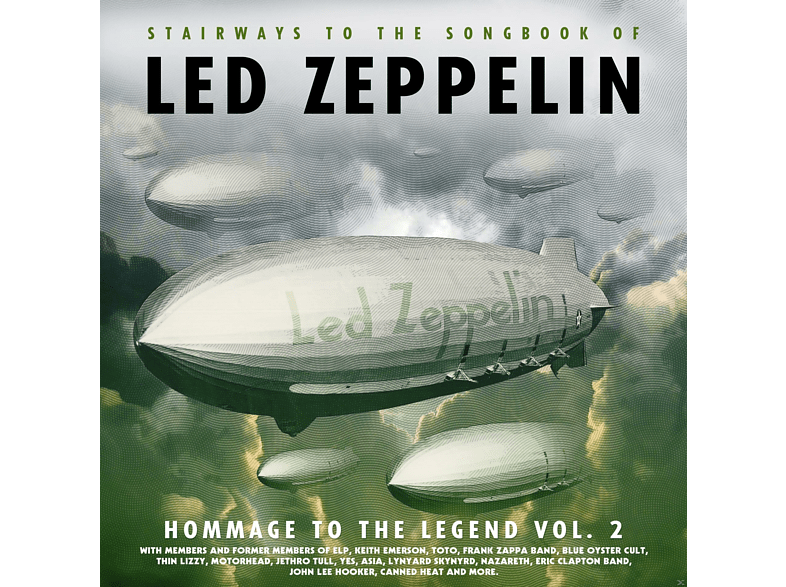 VARIOUS - Led Zeppelin-Homage To The Legend Vol.2 [CD]