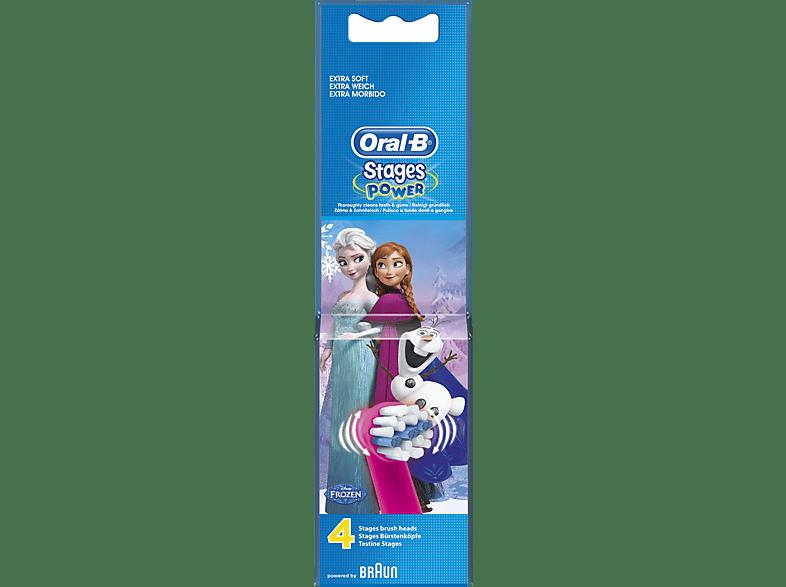 ORAL-B Stages Power Frozen 4er Aufsteckbürsten
