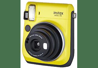 Cámara instantánea - Fujifilm Fuji Instax Mini 70 Ye, Modo selfie, Amarillo