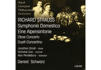 Royal Liverpool Philharmonic Orchestra - Strauss: Sinfonia Domestica - (CD)