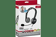 SPEEDLINK SL 870002 BKGY Headset-USB Schwarz/Grau