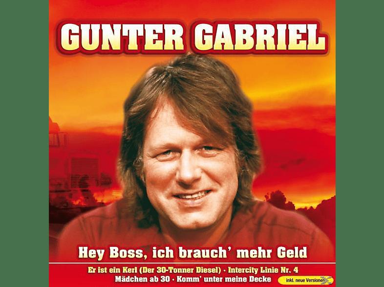 Gunter Gabriel - Hey Boss,ich brauch' mehr Gel [CD]