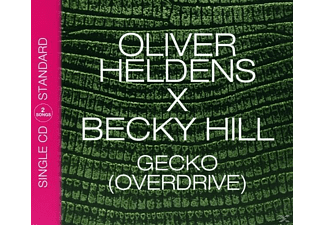 Oliver Heldens & Becky Hill - Gecko (Overdrive) (2track) - (5 Zoll Single CD (2-Track))